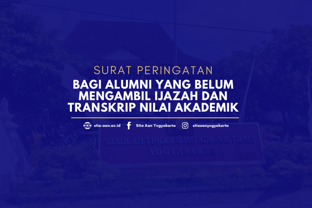 Surat Peringata Bagi Alumni